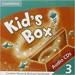 Аудіодиск Kid's Box 3 Audio CDs