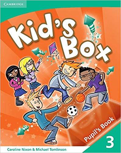 Підручник Kid's Box 3 Pupil's Book
