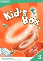 Kid's Box 3 Teacher's Resource Pack with Audio CD - фото обкладинки книги