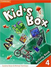 Kid's Box 4 Activity Book - фото обкладинки книги
