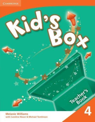 Книга для вчителя Kid's Box 4 Teacher's Book