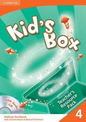 Книга для вчителя Kid's Box 4 Teacher's Resource Pack with Audio CD