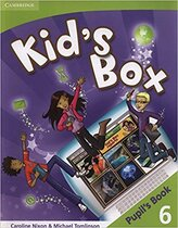 Аудіодиск Kid's Box 6 Pupil's Book