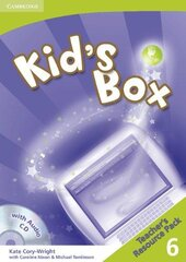 Посібник Kid's Box 6 Teacher's Resource Pack with Audio CD