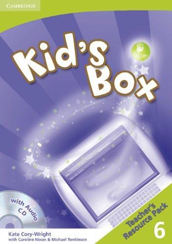 Книга для вчителя Kid's Box 6 Teacher's Resource Pack with Audio CD