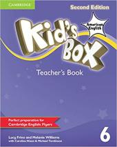 Kid's Box American English Level 6 Teacher's Book (2nd Edition) - фото обкладинки книги