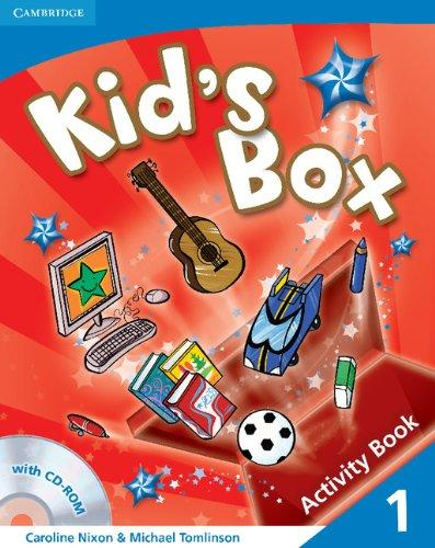 Підручник Kid's Box Level 1 Activity Book with CD-ROM
