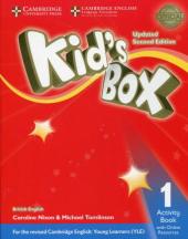 Kid's Box Level 1 Activity Book with Online Resources British English - фото обкладинки книги