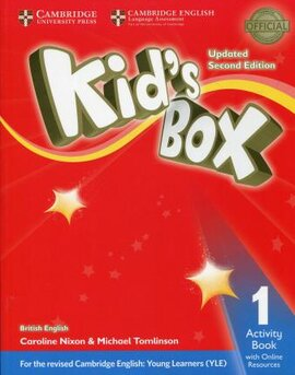 Посібник Kid's Box Level 1 Activity Book with Online Resources British English