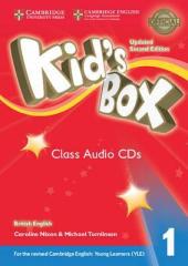 Kid's Box Level 1 Class Audio CDs (4) British English - фото обкладинки книги