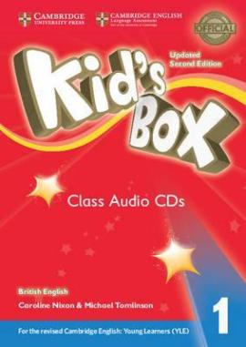 Kid's Box Level 1 Class Audio CDs (4) British English - фото книги