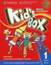 Kid's Box Level 1 Pupil's Book British English - фото обкладинки книги