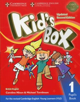 Kid's Box Level 1 Pupil's Book British English - фото книги