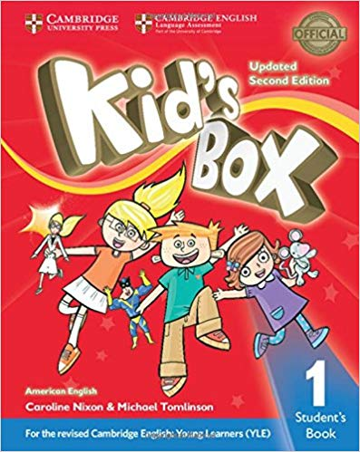 Посібник Kid's Box Level 1 Student's Book American English