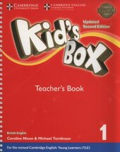 Kid's Box Level 1 Teacher's Book British English - фото обкладинки книги