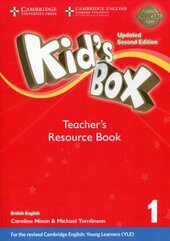 Kid's Box Level 1 Teacher's Resource Book with Online Audio British English - фото обкладинки книги