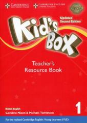 Kid's Box Level 1 Teacher's Resource Book with Online Audio British English - фото обкладинки книги