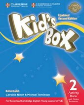 Kid's Box Level 2 Activity Book with Online Resources British English - фото обкладинки книги