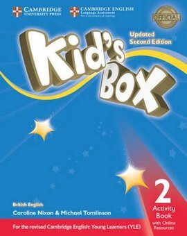 Kid's Box Level 2 Activity Book with Online Resources British English - фото книги
