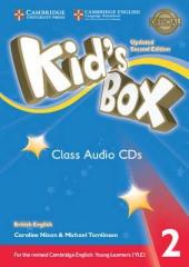 Kid's Box Level 2 Class Audio CDs (4) British English - фото обкладинки книги