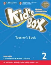 Kid's Box Level 2 Teacher's Book British English - фото обкладинки книги