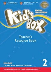 Kid's Box Level 2 Teacher's Resource Book with Online Audio British English - фото обкладинки книги