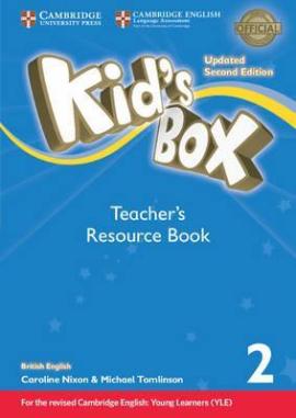 Kid's Box Level 2 Teacher's Resource Book with Online Audio British English - фото книги