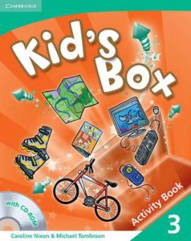 Kid's Box Level 3 Activity Book with CD-ROM - фото книги
