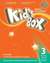 Kid's Box Level 3 Activity Book with Online Resources British English - фото обкладинки книги
