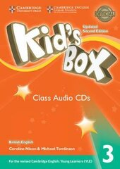 Kid's Box Level 3 Class Audio CDs (3) British English - фото обкладинки книги