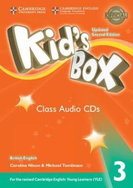 Kid's Box Level 3 Class Audio CDs (3) British English - фото книги