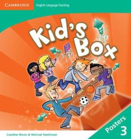 Kid's Box Level 3 Posters - фото книги