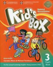 Kid's Box Level 3 Pupil's Book British English - фото обкладинки книги