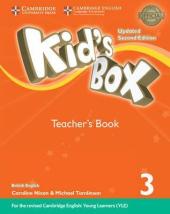 Kid's Box Level 3 Teacher's Book British English - фото обкладинки книги
