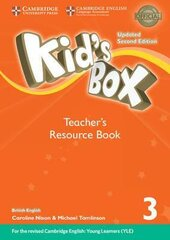 Kid's Box Level 3 Teacher's Resource Book with Online Audio British English - фото обкладинки книги
