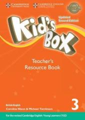 Kid's Box Level 3 Teacher's Resource Book with Online Audio British English - фото обкладинки книги