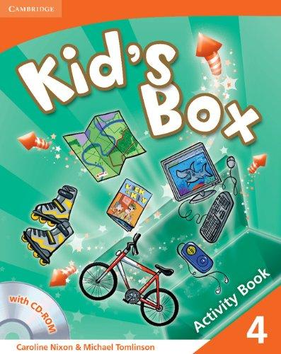 Підручник Kid's Box Level 4 Activity Book with CD-ROM