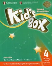 Kid's Box Level 4 Activity Book with Online Resources British English - фото обкладинки книги