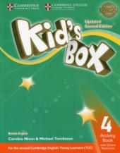 Kid's Box Level 4 Activity Book with Online Resources British English - фото обкладинки книги