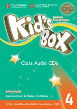Kid's Box Level 4 Class Audio CDs (3) British English - фото книги