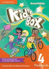 Kid's Box Level 4 Flashcards (pack of 103) 2nd Edition - фото обкладинки книги