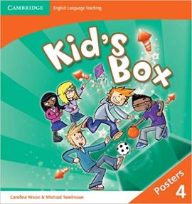Kid's Box Level 4 Posters - фото книги
