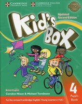 Kid's Box Level 4 Pupil's Book British English - фото обкладинки книги