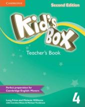 Kid's Box Level 4 Teacher's Book - фото обкладинки книги