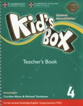 Kid's Box Level 4 Teacher's Book British English - фото обкладинки книги