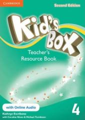 Kid's Box Level 4 Teacher's Resource Book with Online Audio - фото обкладинки книги