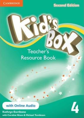 Книга для вчителя Kid's Box Level 4 Teacher's Resource Book with Online Audio