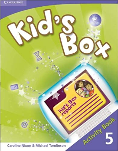 Підручник Kid's Box Level 5 Activity Book