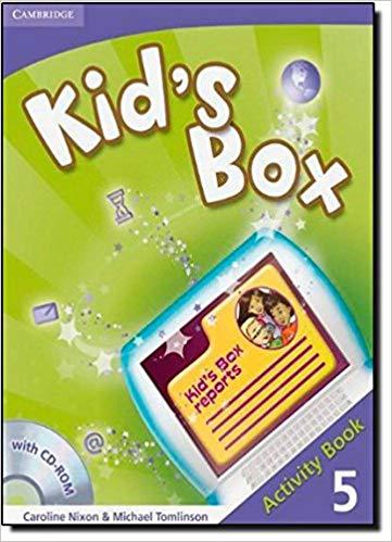 Підручник Kid's Box Level 5 Activity Book with CD-ROM