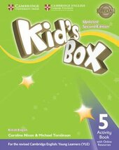 Kid's Box Level 5 Activity Book with Online Resources British English - фото обкладинки книги